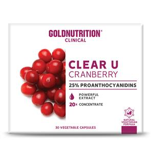 Clear U Cranberry GoldNutrition Clinical