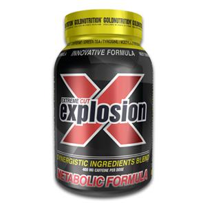 Extreme Cut Explosion GoldNutrition 120 cáps.