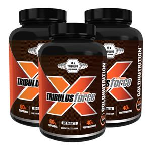 Pack 3 Tribulus Extreme Force GoldNutrition