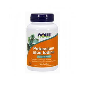 Potassium plus iodine - NOW