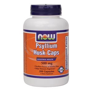 Psyllium Husk Caps - NOW