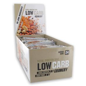 Total Protein Bar Low Carb Crunchy - Cx 24 - GoldNutrition