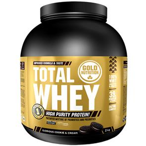 Total Whey Cookies and Cream GoldNutrition - 2kg