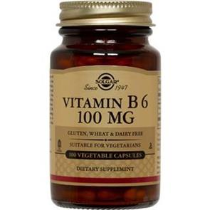 Vitamina B6 100 Mg - Solgar